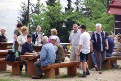 Účastníci venku